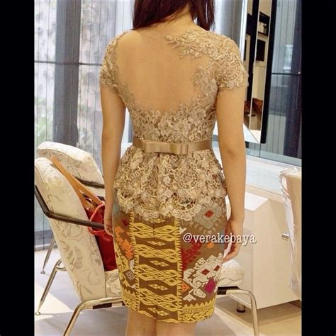 Casual Dress Brukat Putih 380 best vera kebaya indonesia images on