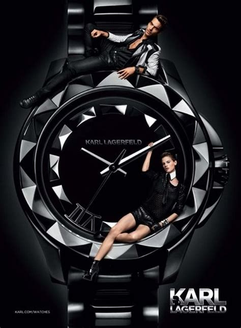 K By Karl Lagerfeld The 2008 Advertising Caign by Caign Jon Kortajarena Saskia De Brauw For Karl