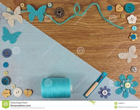 wallpaper craft com haberdashery crafts background stock photo image 44883077