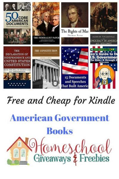 Free Government Giveaways - free and cheap american government books for kindle