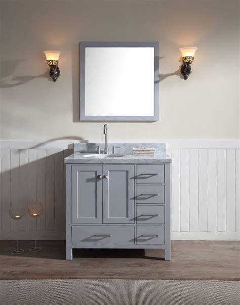left offset sink vanity best 25 single sink vanity ideas on single