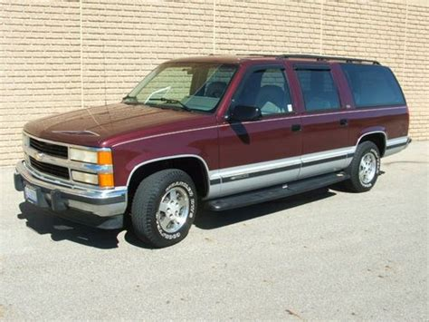 motor repair manual 1994 chevrolet suburban 1500 transmission control buy used 1994 chevy suburban silverado c1500 350tbi automatic 2wd 145k miles in lancaster ohio
