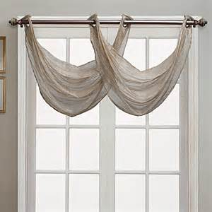 waterfall valance pattern buy waterfall valance from bed bath beyond
