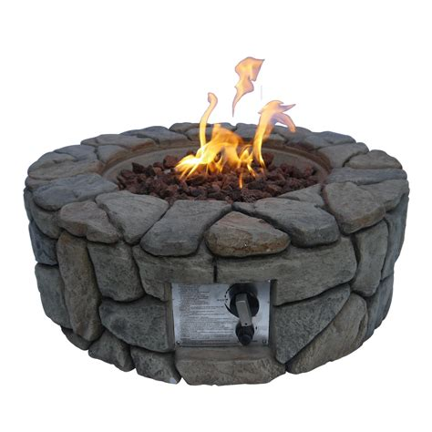 Firepit Ceramics Ceramic Pit Stones Pit Design Ideas