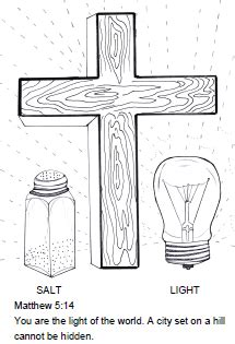 salt of the world coloring page the parables of jesus christ sunday school ideas