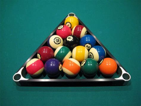 How Do U Rack Pool Balls by Pool Rack Setup