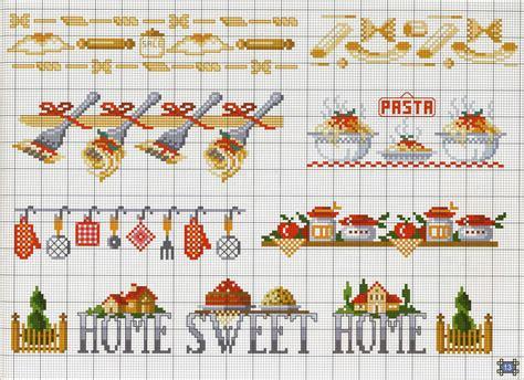 punto croce cucina schemi gratis bordure cucina pasta magiedifilo it punto croce