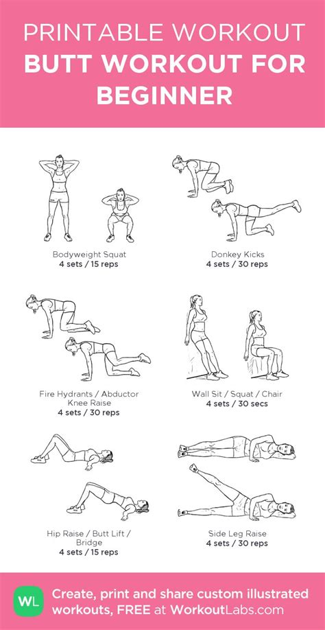 25 best ideas about beginner workout routines on