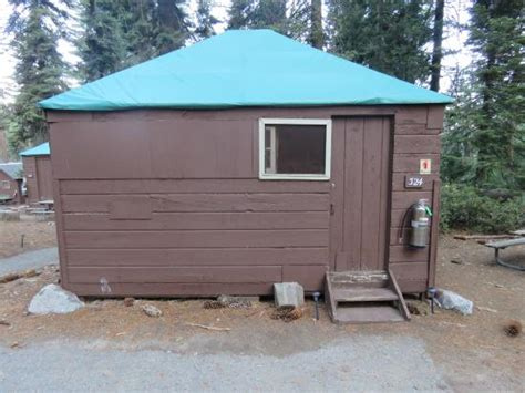 Tent Cabins In California by Tent Cabin Picture Of Grant Grove Cabins Sequoia And