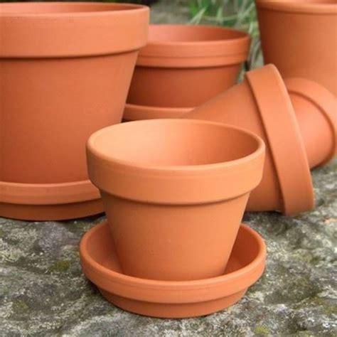 terracotta pots terracotta plant pots with saucers medium 8 cm weston