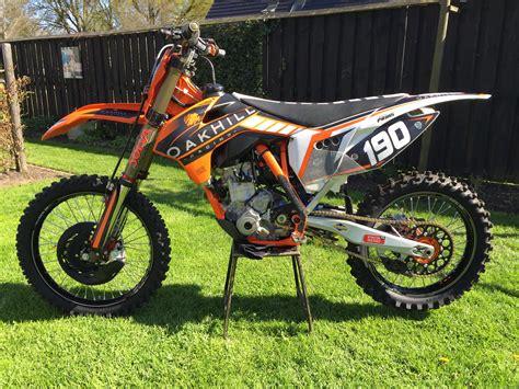 2nd motocross bikes oakhill 2015 sx f 250 2nd version henk zanting s bike