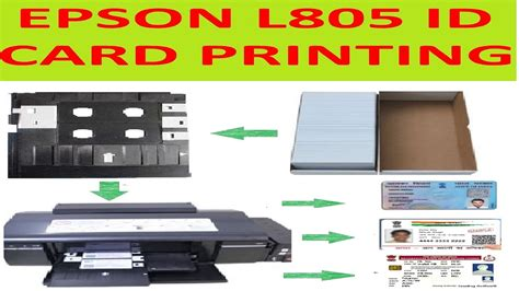 epson l805 id card tray template epson l805 id card printing tutorial in