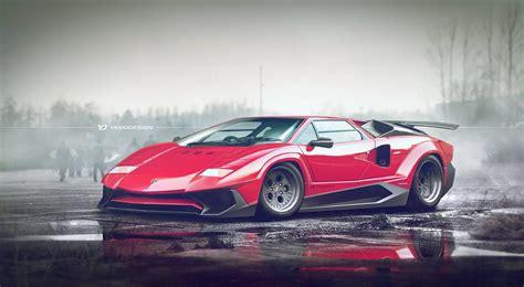 Lamborghini Contach by Lamborghini Countach Sv Sparks Mixed Emotions Carscoops