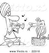 snake charmer coloring page snake charmer