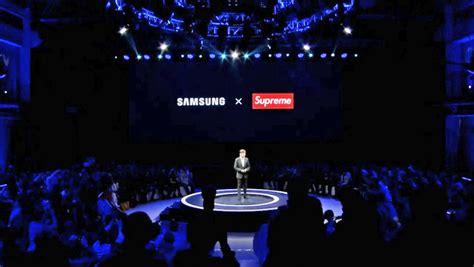 samsung x supreme samsung ha annunciato una collaborazione in cina con il marchio supreme ma non quello originale