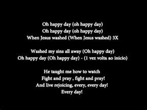 day lyrics in oh happy day lyrics voice and guitar for rehearsal