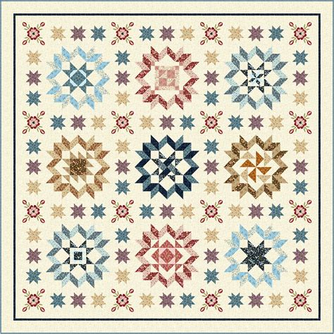 quilting treasures plain fancy block of the month quilt