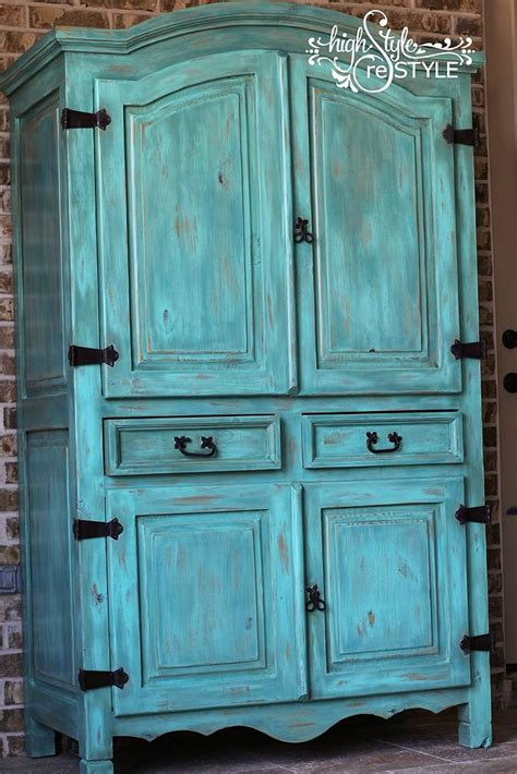 painted armoire hometalk rustic armoire restyled into outside oasis storage