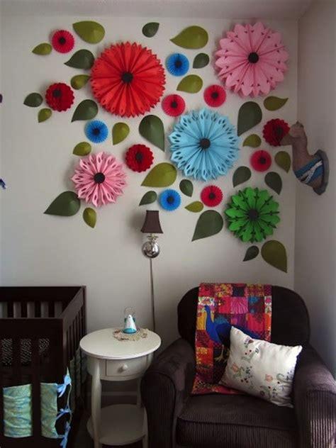 ide kreatif membuat hiasan dinding foto motif bunga dan daun bisa menjadi pilihan tepat