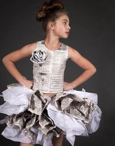 Clothes Out Of Paper - 25 best ideas about recycled dress on paper