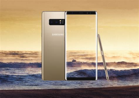 Samsung Note 8 Gold samsung galaxy note8 unveiled in nyc