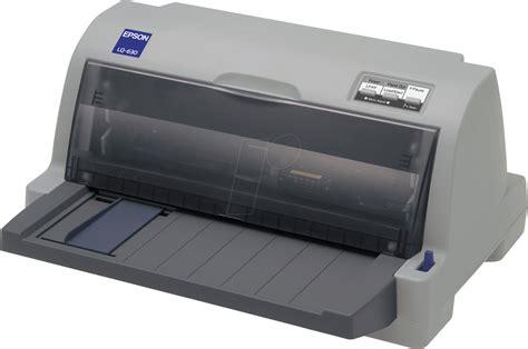 Printer Epson E400 epson lq 630 24 dot matrix printer parallel usb at reichelt elektronik