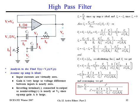 high pass filter works high pass filter output 28 images how filters work animations biomedical instrumentation i