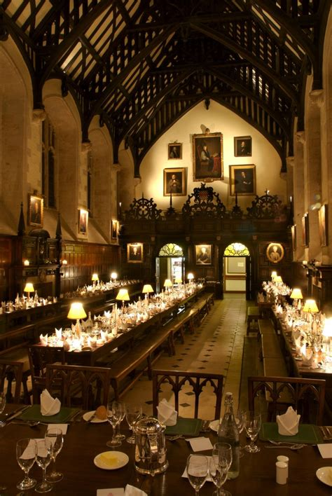 dining hall exeter college oxford guest b b book now