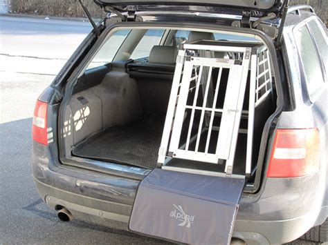 Hundebox F R Audi A4 Avant by N40 Hundetransportb Ox Hundebox Aluminium Transportbox