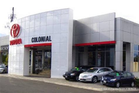 main dealer toyota colonial toyota milford ct 06460 2529 car dealership
