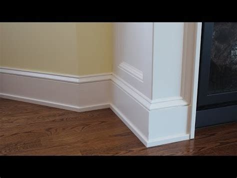 Craftsman Home Design by How To Install Shoe Molding Tips On Designing Interior