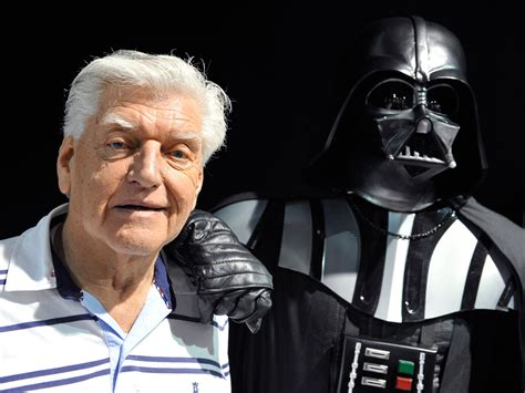 Wears Of David by Darth Vader Actor David Prowse Reveals He Has Dementia I