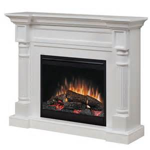 Electric Fireplaces by Dimplex Winston Electric Fireplace Mantel Package In White