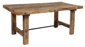 Wood Plank Kitchen Table Furniture Gt Dining Room Furniture Gt Wood Dining Table Gt Thick Wood Dining Table