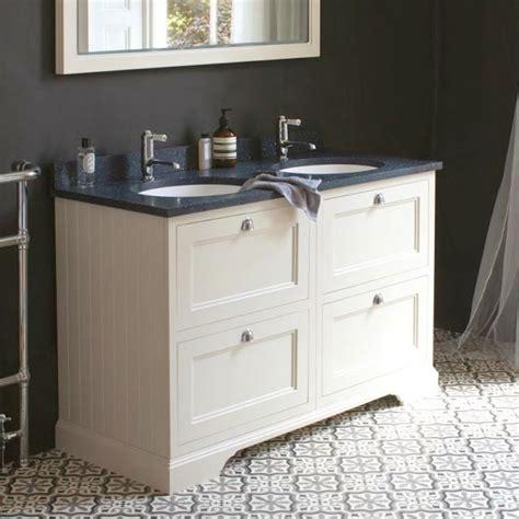 bathroom vanities burlington burlington 130 double vanity unit with four drawers uk