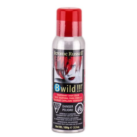 jerome bwild temporary hair color spray jerome