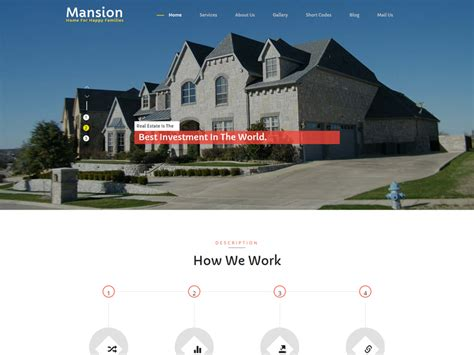 bootstrap themes free real estate mansion free bootstrap real estate template freemium