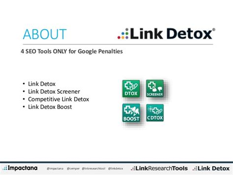 Link Detox Review by Penguin Updates Past Present And Future