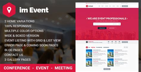 event management html template event management html template with rtl version jogjafile