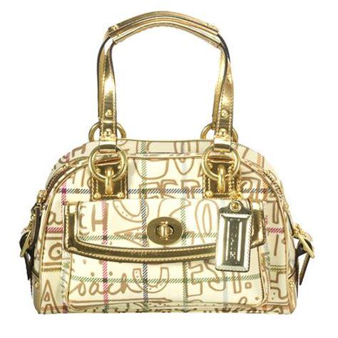 Coach Dome Small coach tattersall graffiti small domed satchel handbag