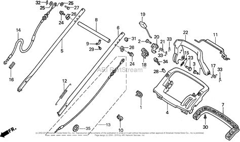 Honda Harmony 215 Parts honda harmony 215 lawn mower diagram imageresizertool