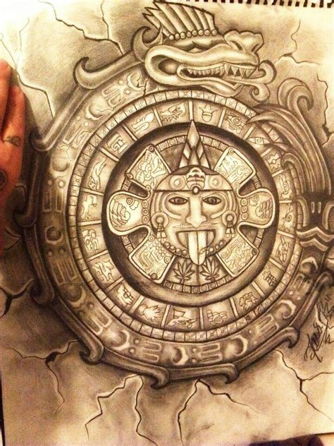 mayan calendar tattoo designs 70 best images about mayan aztec tattoos on