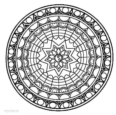free mandala coloring pages printable mandala coloring pages for cool2bkids