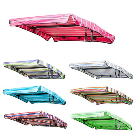 3 seater swing canopy replacement stripes replacement canopy for swing seat garden hammock 2