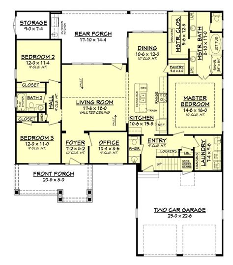 open floor plan craftsman 17 best ideas about craftsman house plans on pinterest