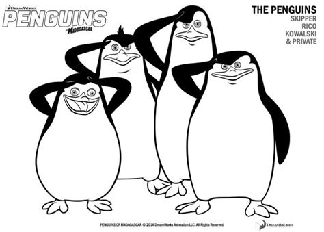 penguins of madagascar coloring pages pdf free printable penguins of madagascar coloring page mama