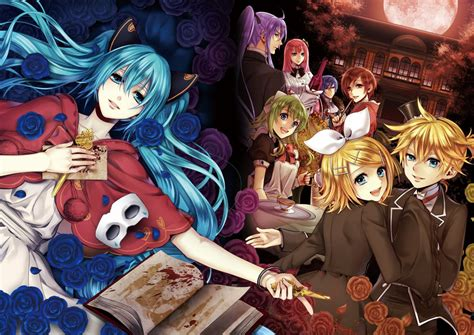 film anime vocaloid night series vocaloid kaito and anime