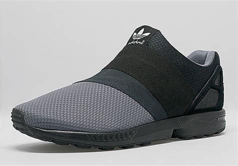 Adidas Slip On 01 adidas zx flux slip on black grey sneakernews