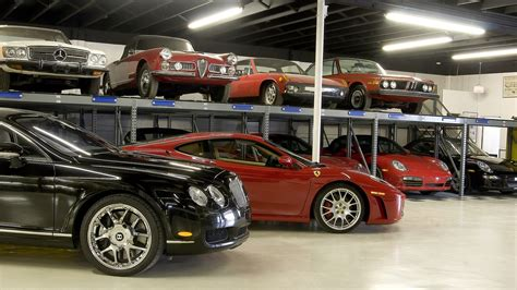 dallas car storage exotic classic antique long term