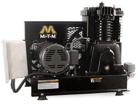 southern tool mi t m acs series 5hp simplex base mounted air compressor